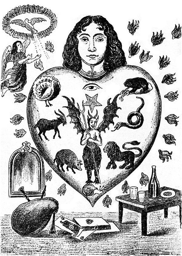 peccati capitali simbologia